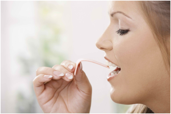 chewing gum for teeth health